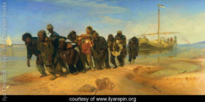 Convicts-pulling-a-boat-along-the-Volga-River,-Russia,-1873-large